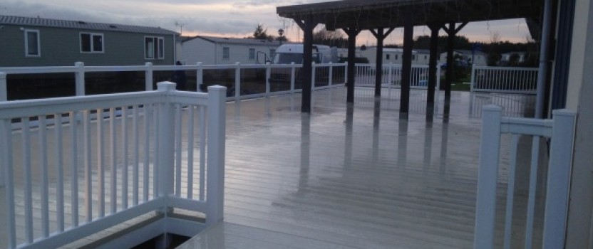 How To Construct A Concrete Decking Area